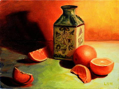 Orange Temptation, Peru Impression Art Print