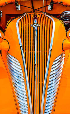 Photograph - Orange Terraplane by Carolyn Marshall