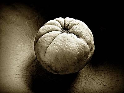 Photograph - Orange Texture by Patricia Strand