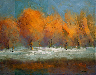 Painting - Orange Trees by Bob Pennycook