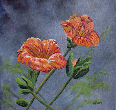 Painting - Orange You Ready For Spring by Lisa Barr