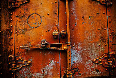 Orange You Rusty Art Print by Toni Hopper