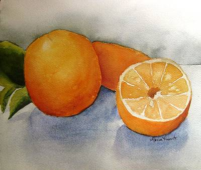 Oranges From The Tree Original by Maria Hunt