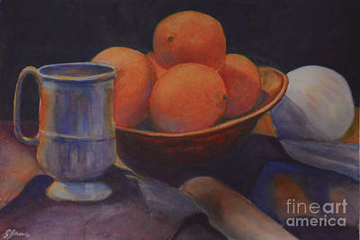 Painting - Oranges by Genevieve Brown