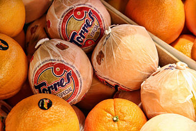 Photograph - Oranges In Spain by Nancy Ingersoll