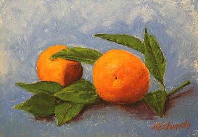 Pastel - Oranges by Marna Edwards Flavell