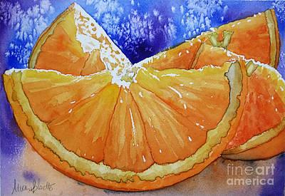 Painting - Oranges 'n' Blues by Marisa Gabetta