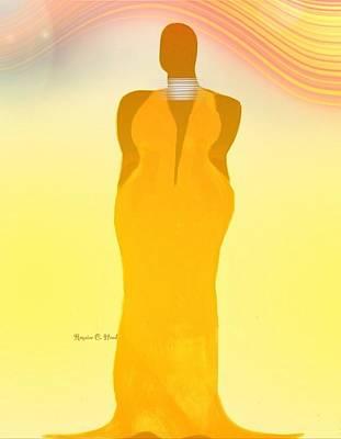 Orangewavechic Art Print