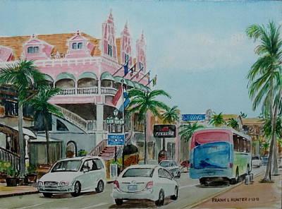 Oranjestad Aruba Art Print by Frank Hunter