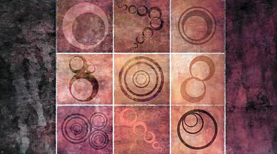 Mixed Media - Orb Ensemble 2 by Angelina Tamez