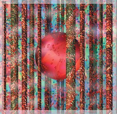 Digital Art - Orb Forest by Melinda Fawver