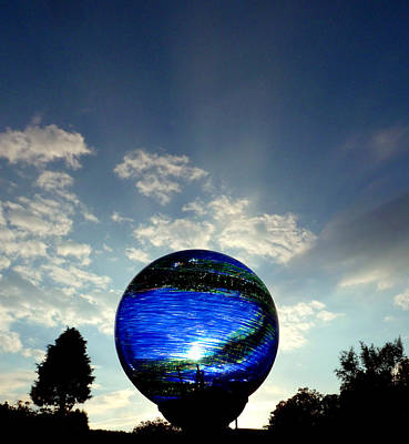 Photograph - Orb On Sky by Baato