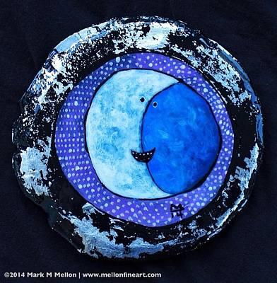Orbis Big Moon  Original by Mark M  Mellon