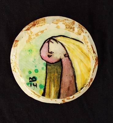 Orbis Woman With Yellow Hair  Original