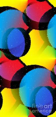 Atom Mixed Media - Orbit by Chris Butler
