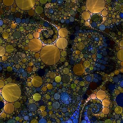 Digital Art - Orbital Energy by T T