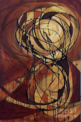 Orbital Pathways 2 Original by David CP Placencia