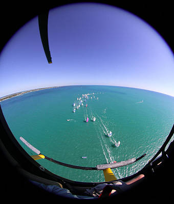Photograph - Orbital Point Of View by Steven Lapkin