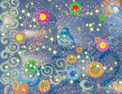 Orbs Digital Art - Orbs by Kim Prowse