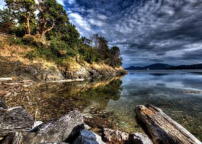Orcas Island Waterfront Art Print