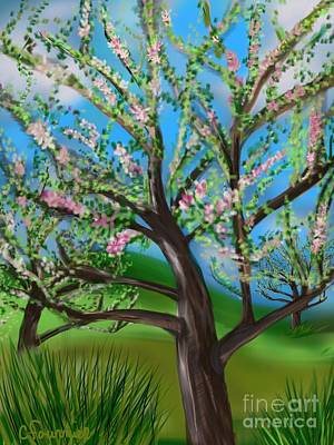 Orchard Blossom Art Print by Christine Fournier