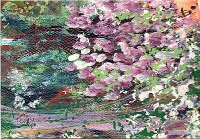 Painting - Orchard Blossoms by Kristine Kellor