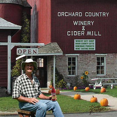 Orchard Country Winery Art Print
