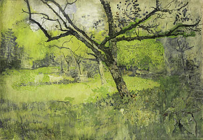 Orchard In Eemnes, The Netherlands, Richard Roland Holst Art Print
