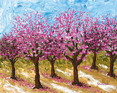Painting - Orchard by Katherine Young-Beck