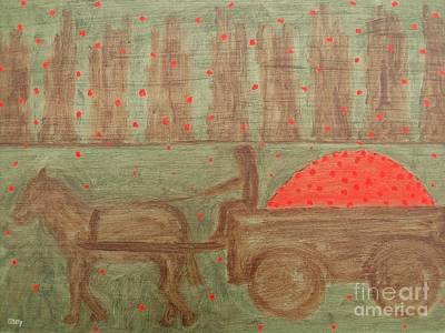 Fruit Tree Art Painting - Orchard by Patrick J Murphy