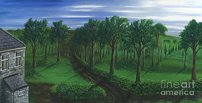 Painting - Orchard Road by Kenneth Clarke