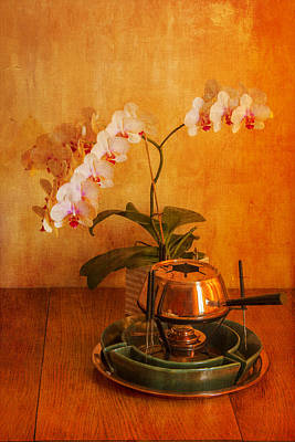 Photograph - Orchid And Copper Fondue by Brian Roscorla