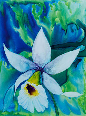Painting - Orchid Blues  by Patricia Beebe