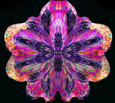 Digital Art - Orchid Digi by Expressionistart studio Priscilla Batzell