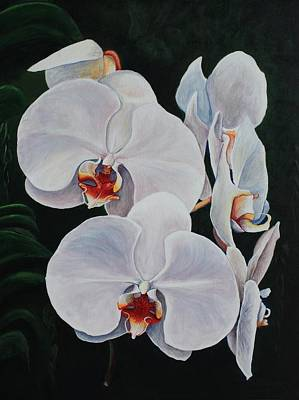 Orchid Fever Art Print by Pam Kaur