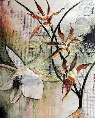 Orchid Fields - D2 Art Print by Vivian Mora