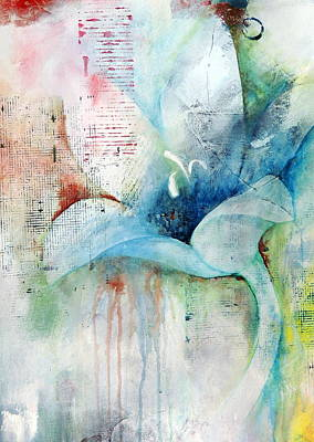 Orchid Fields IIi - D1 Art Print by Vivian Mora