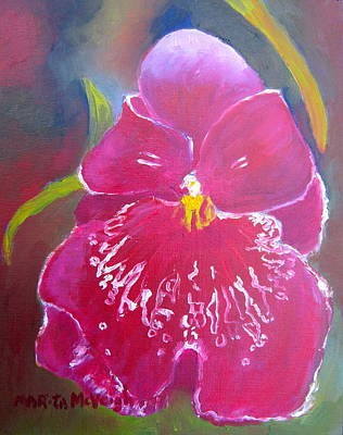 Longwood Gardens Painting - Orchid by Marita McVeigh