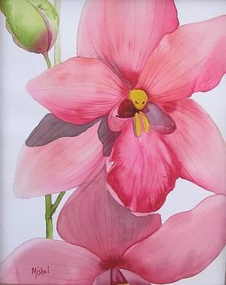 Painting - Orchid by Mishel Vanderten