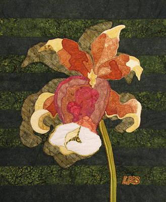Orchids #1 Art Print by Lynda K Boardman