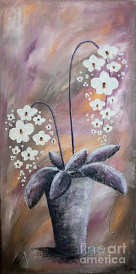 Painting - Orchids by Home Art