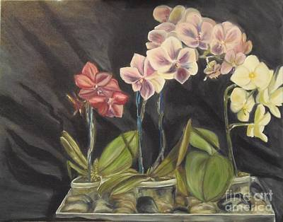 Painting - Orchids by Isabel Honkonen