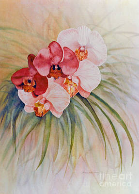 Painting - Orchids by Patricia  Tierney