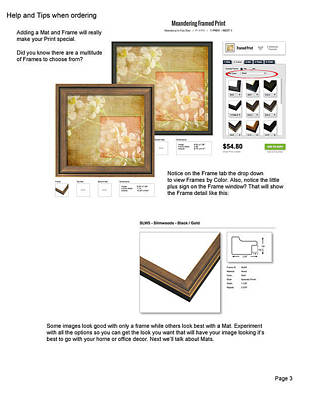 Digital Art - Ordering Tips Frames Pg 3 by Fran Riley