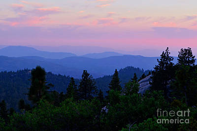 Photograph - Ordinary Mountain View by Third Eye Perspectives Photographic Fine Art