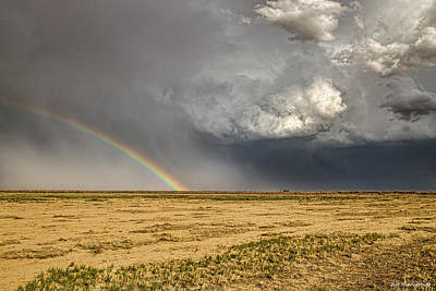 Photograph - Ordway Rainbow by Jeff Niederstadt