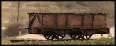 Photograph - Ore Car by Vincent Dwyer
