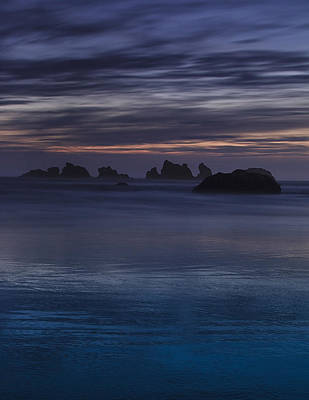 Oregon Coast After Sunset Art Print