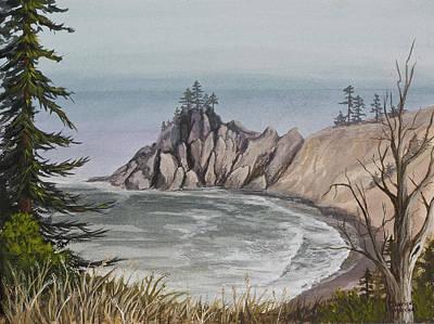 Painting - Oregon Coast by Darice Machel McGuire
