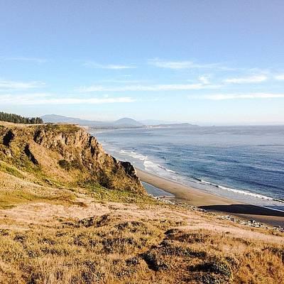 Beauty Wall Art - Photograph - Oregon Coast #iphone5 #instagramers by Scott Pellegrin